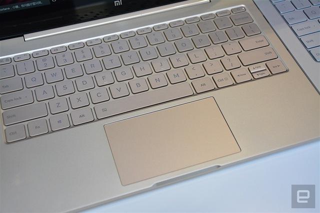 Laptop Xiaomi Mi Notebook Air không có numpad