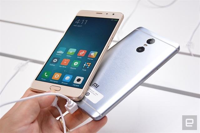 Ngôn ngữ thiết kế của smartphone Redmi Pro không hề mới