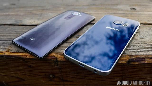 Rò ràng, Galaxy S6 đã thắng thế so với LG G4, trong năm 2015 vừa qua.
