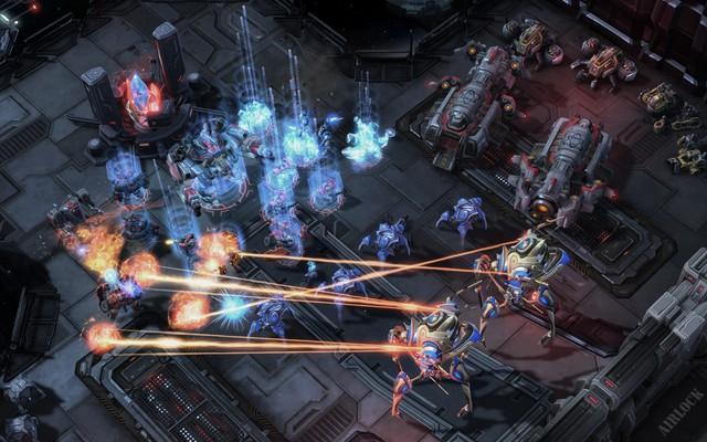 Một trận đấu StarCraft sẽ có nhiều bất ngờ không thể đoán trước.