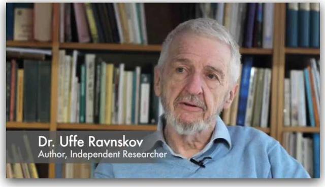 Tác giả chính của nghiên cứu, bác sĩ Uffe Ravnskov.