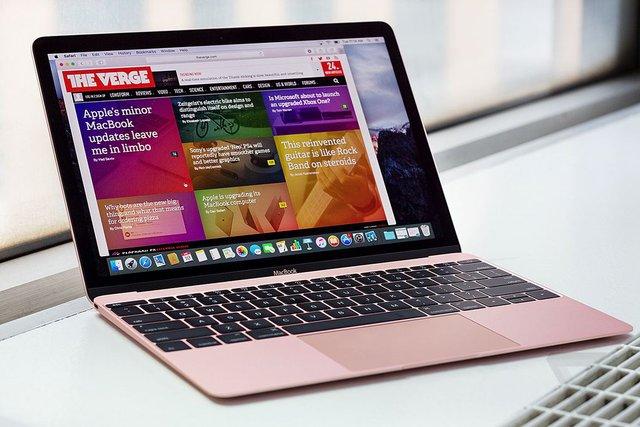Kiểu dáng và kích thước của MacBook 12 inch (2016) hoàn toàn tương tự phiên bản tiền nhiệm trong năm ngoái.