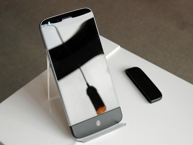 LG G5 kết hợp cùng module Hi-Fi plus, giúp chơi nhạc chuyên nghiệp hơn.