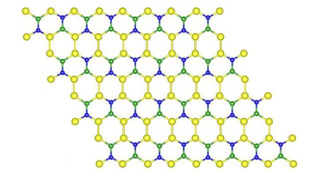 Cấu trúc của loại vật liệu hứa hẹn sẽ đánh bại graphene