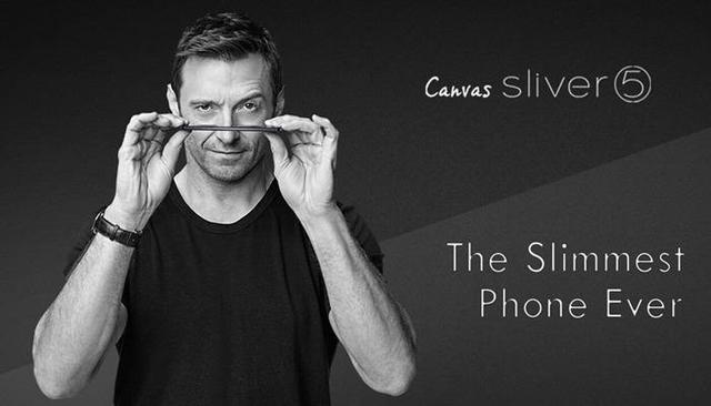 """""""Người sói"""" Hugh Jackman với chiến dịch quảng cáo cho smartphone siêu mỏng Micromax Canvas Silver 5"""