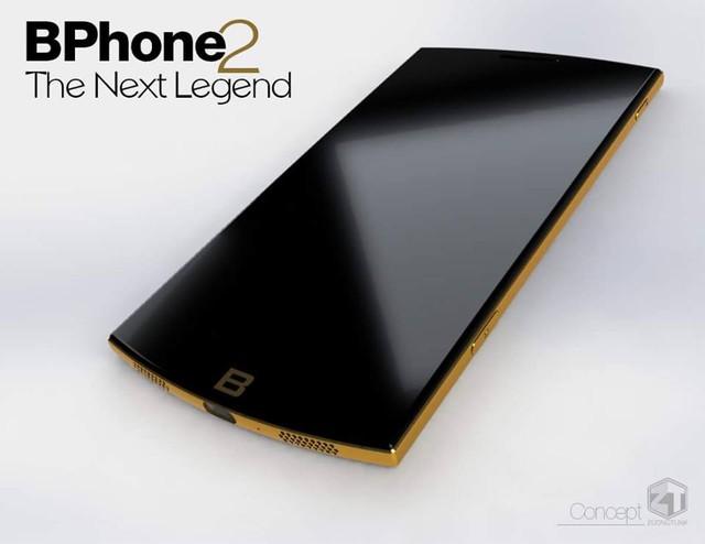 Ý tưởng Bphone 2 The Next Legend.
