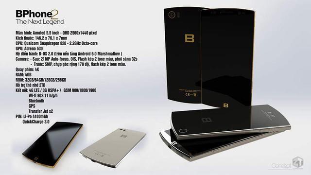 Nhiều người tin rằng Bphone 2 sẽ trang bị vi xử lý Snapdragon 820 mới nhất