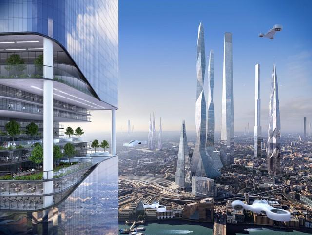 Những tòa nhà chọc trời mọc lên ngày càng dày đặc có thể trong tương lai, sống trong những tòa nhà này là sự lựa chọn duy nhất cho loài người chúng ta, nhà tương lai học Ian Pearson hiện đang công tác tại Viện Nghiên cứu Khoa Học và Nghệ Thuật toàn cầu kết luận.