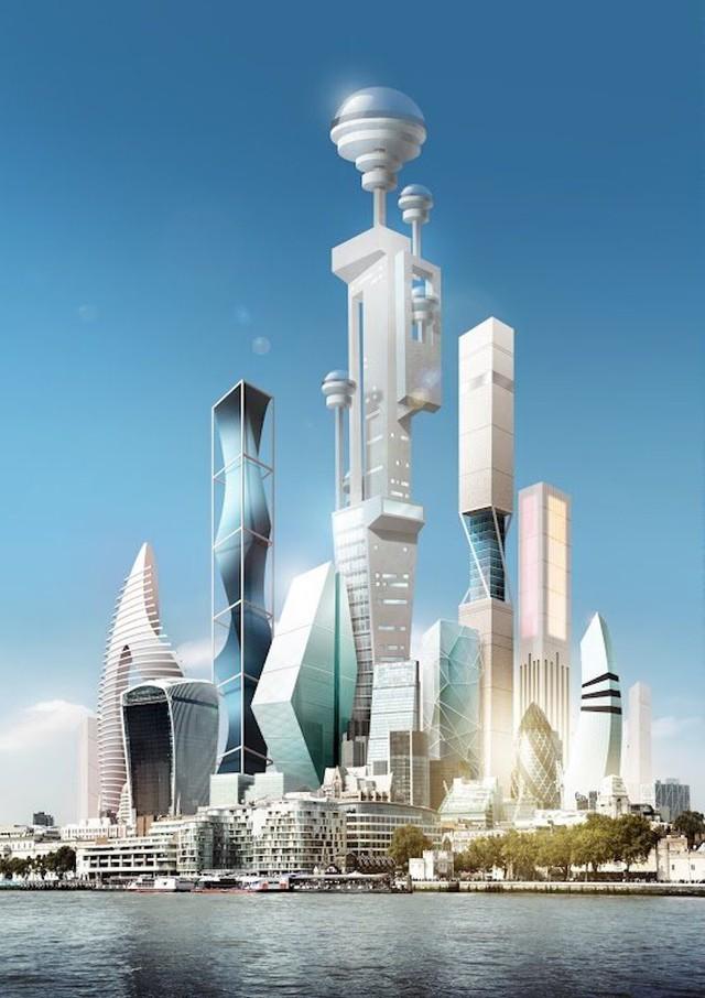 Số lượng dân cư trong một tòa tháp có thể lên tới hàng ngàn người Pearson cho hay.
