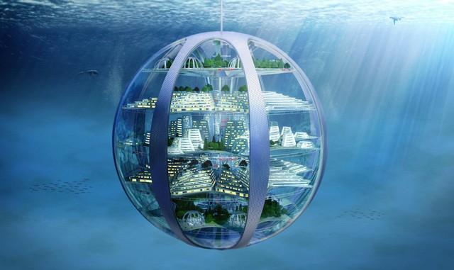 Thậm chí chúng ta còn có cả những thành phố dưới nước.