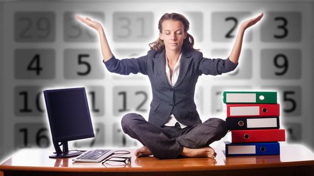 Lên lịch tập luyện sẽ cho phép bạn chống lại mọi ảnh hưởng sức khỏe của công việc văn phòng