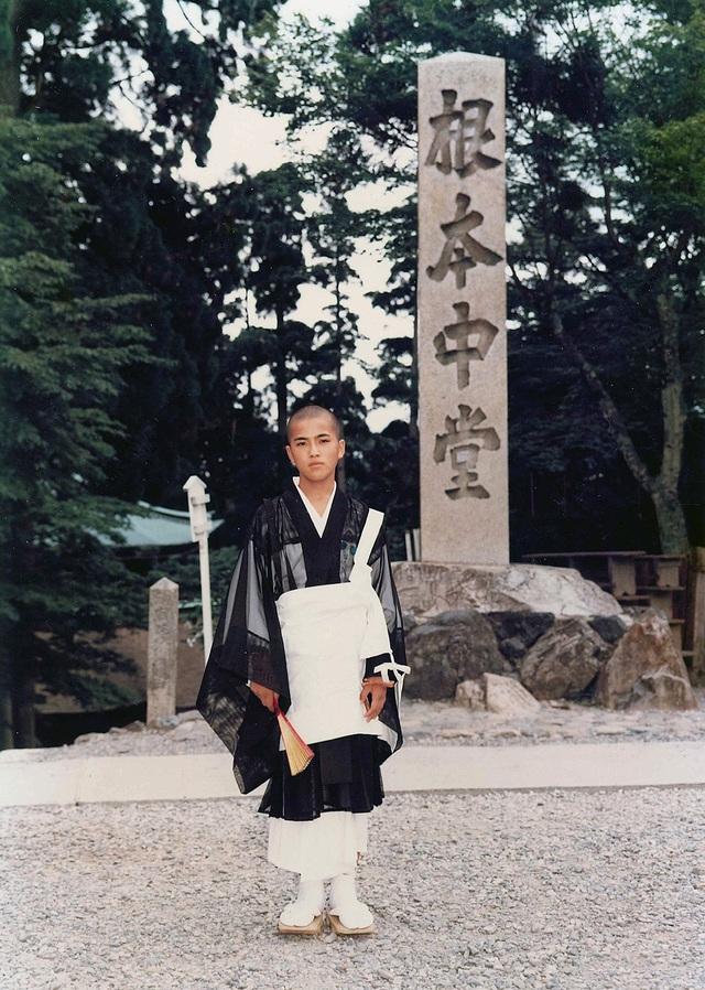Taniguchi khi 13 tuổi
