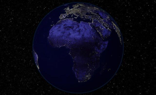 Một thế giới không màu sắc, không ánh điện, tràn ngập môt màu đen lạnh lãnh khi màn đêm buông xuống. Nơi đó có tới 1.8 tỉ người đang sinh sống.