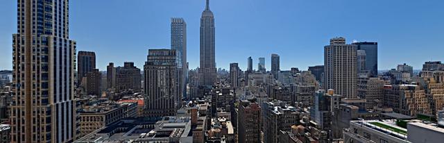 Phần lớn các căn hộ đều có view nhìn thẳng ra công viên Bryant và tòa Empire State.