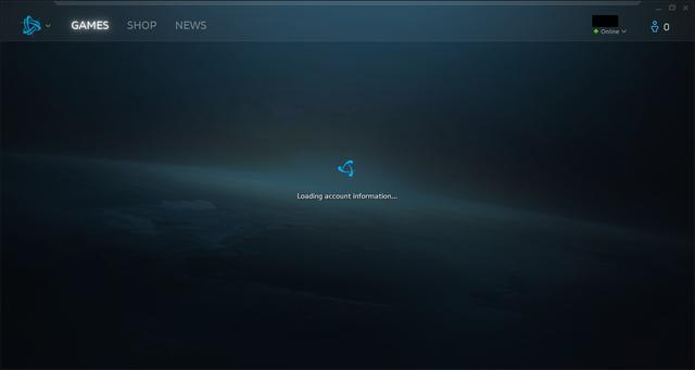 Biểu tượng Battle.net xoay chóng mặt.