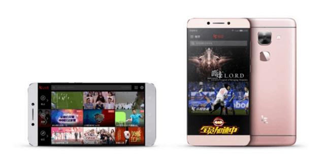 Bộ smartphone mới nhất của LeEco loại bỏ giắc cắm 3,5 mm. Ảnh: LeEco.