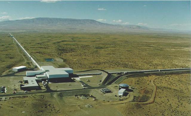 Một trong hai cơ sở thí nghiệm của LIGO