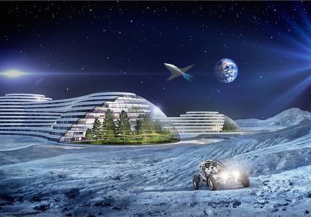 Một mẫu nhà nhà cho phép con người định cư tại hành tinh khác cũng đã từng được nghĩ tới. Samsung cho rằng trong tương lai con người có thể khai thác không gian ngoài hành tinh cho mục đích thương mại, buôn bán qua lại trong cộng đồng vũ trụ.