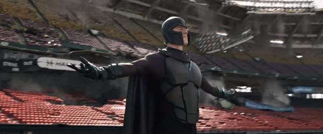 Bạn thấy Magneto sử dụng quyền năng của mình để nhấc bổng cả một sân bóng chày ư?…