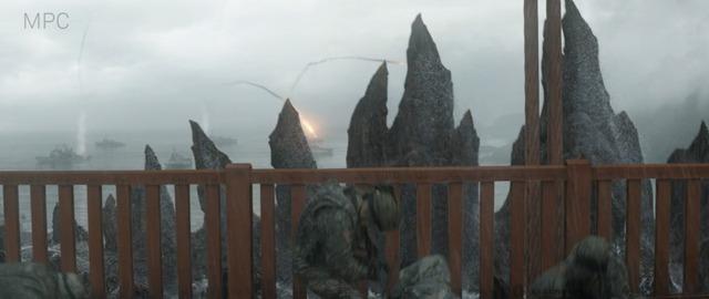 """Trong bộ phim """"Godzilla"""" ra rạp năm 2014, các chiến binh đang lo lắng cho vận mện tương lai của mình…"""