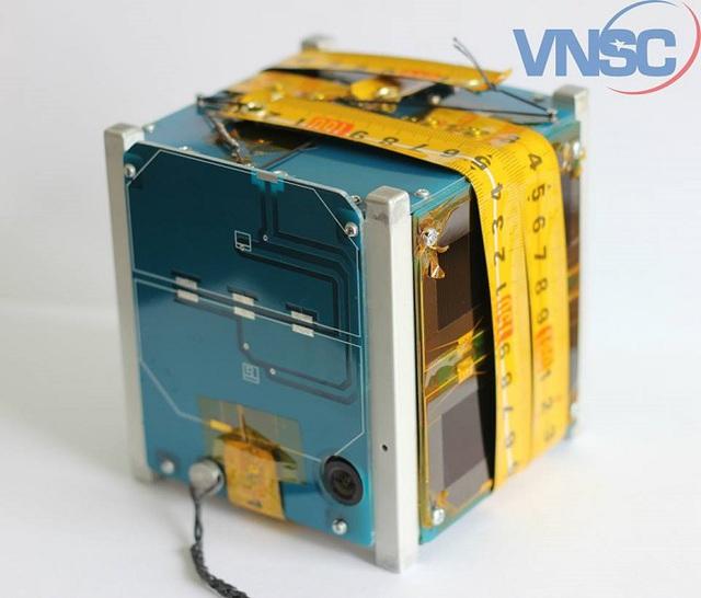 Vệ tinh Pico Dragon được phóng lên vũ trụ vào ngày 4/8/2013. Ảnh Trung tâm Vệ tinh quốc gia (VNSC)