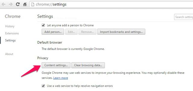Cuối cùng, bạn tìm tới mục Plugins, tích chọn vào dòng Let me choose when to run plugin content, nhấn Done.