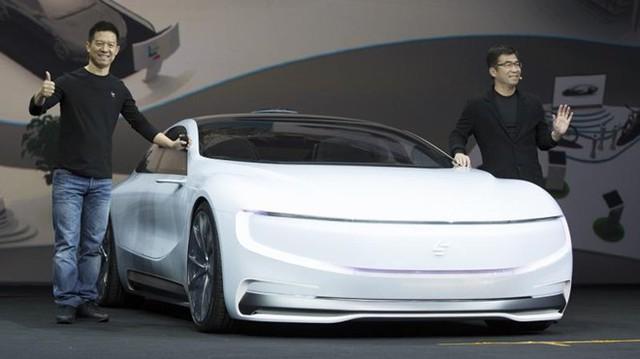 LeEco tung ra xe điện LeSEE vài ngày trước, tham vọng cạnh tranh với Tesla. Ảnh: Deccan Chronicles.