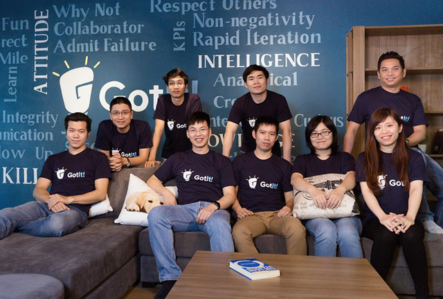 Nhóm nhân sự của GotIt tại Hà Nội.