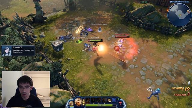 Người chơi điều khiển 2 hero chứ không phải là 1 trong trận đấu