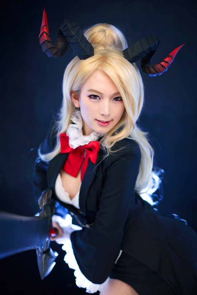 Spiral Cats cosplay Lost Sagas Mephisto