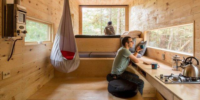 Các sinh viên Harvard đã thật sự xây dựng những ngôi nhà tí hon dành cho những ai muốn sống tách biệt với cộng đồng, căn nhà này hứa hẹn sẽ được đưa vào sử dụng vì tính năng ưu việt của nó.