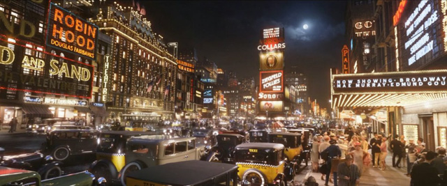 Và thành phố New York sầm uất của thập niên 1920…