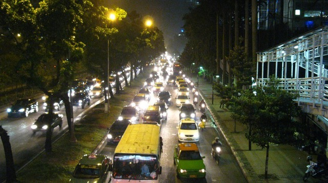 Jakarta là một trong những thành phố có điều kiện giao thông khủng khiếp nhất thế giới