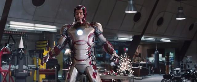 """Trong """"Iron Man 3"""", bộ giáp hoành tráng mà Tony Stark khoác lên mình…"""
