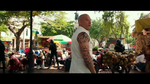Sự xuất hiện của Vin Diesel