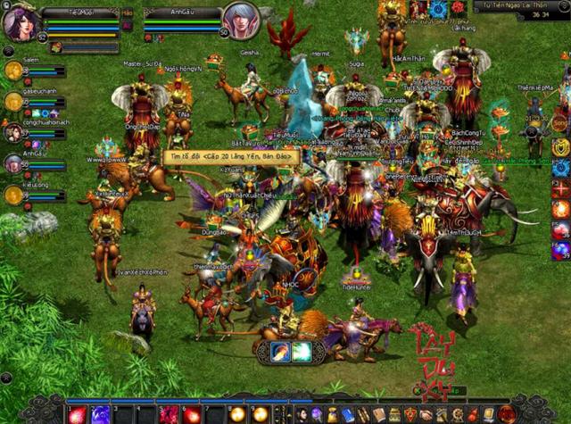Rất nhiều game online khai thác đề tài Tây Du Ký ra mắt thành công tại Việt Nam.