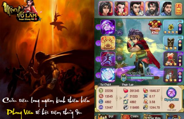 Hình tượng về anh hùng Tiêu Phong được tạo dựng xuất sắc trong game Việt - Mộng Võ Lâm.