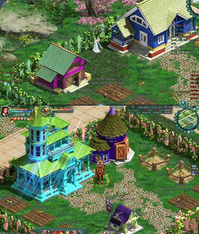 Chinh Đồ là game online đầu tiên cho người chơi tự do xây dựng trang viên, cơ ngơi riêng.
