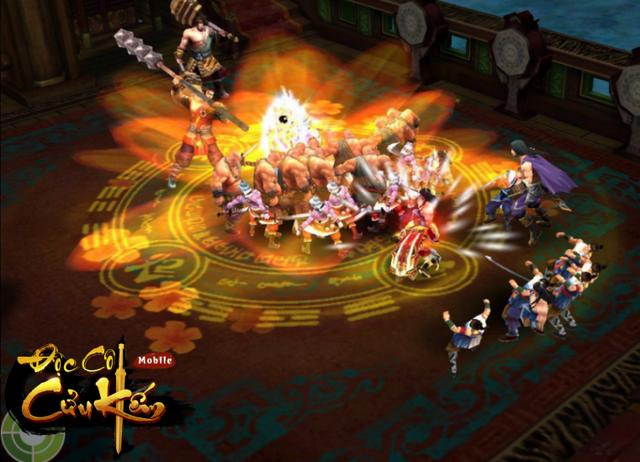 Cận cảnh bộ võ công Túy Quyền được thi triển trong game kiếm hiệp Độc Cô Cửu Kiếm Mobile.