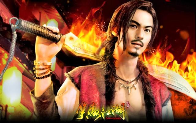 Trong bối cảnh truyện kiếm hiệp Kim Dung, Điền Bá Quan là một kẻ ham mê tửu sắc vô độ.