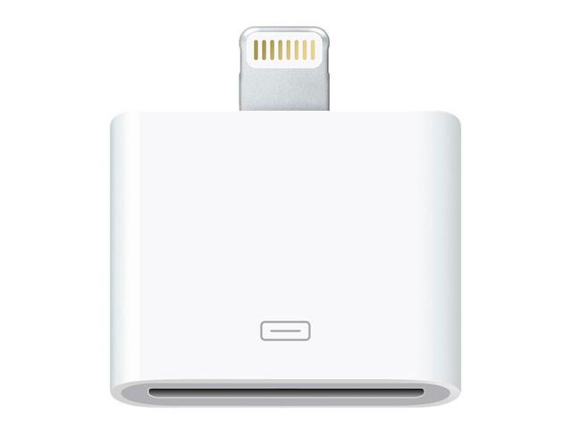 Người dùng sẽ cần mua adapter nếu muốn sử dụng các phụ kiện 30-pin cũ