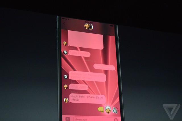 Rất nhiều hiệu ứng cho tin nhắn.