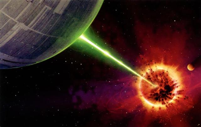 ... chỉ mong các nền văn minh láng giềng sẽ không liên tưởng đến vũ khí hủy diệt trong bộ phim Star Wars.