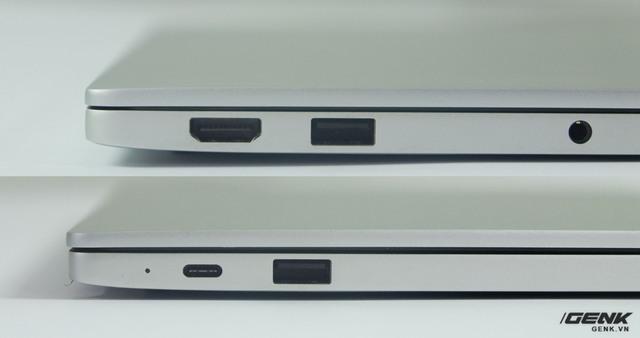 Các cổng kết nối trên Mi Notebook Air