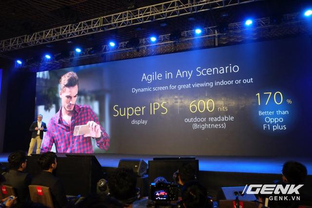 Màn hình ZenFone 3 có chất lượng tốt hơn Oppo F1 plus?