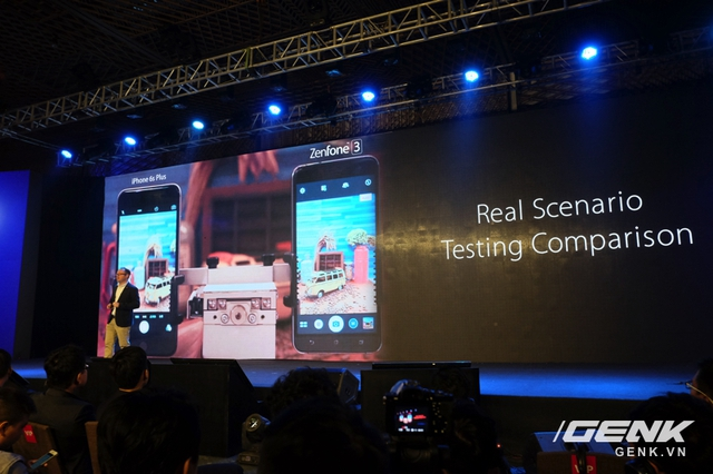 Trong màn thử nghiệm chống rung của ASUS, ZenFone 3 cho kết quả tốt hơn iPhone 6s Plus?