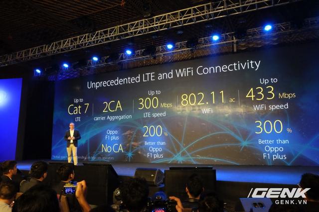 Tốc độ LTE và Wifi của ZenFone 3 nhanh hơn Oppo F1 plus?