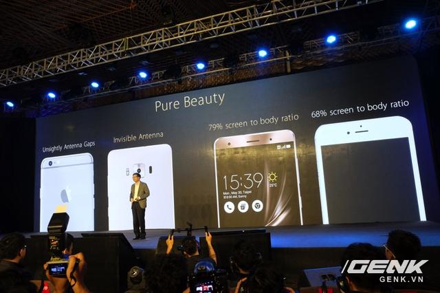 ZenFone 3 không có vạch ăng-ten vô duyên như iPhone