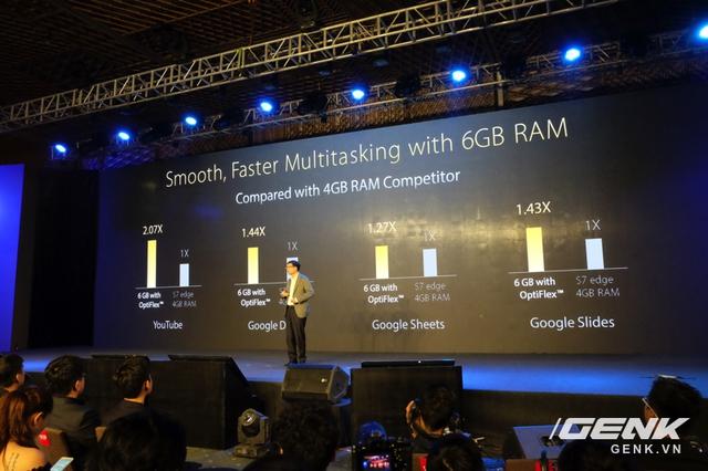 ZenFone 3 Deluxe mượt và nhanh hơn Galaxy S7 edge?