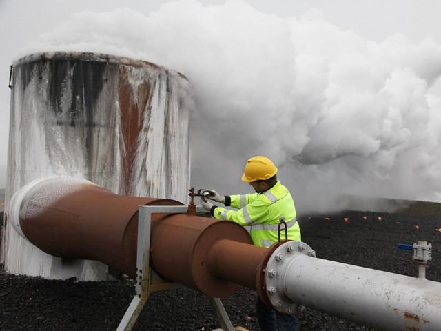 Tiến hành thử nghiệm tại nhà máy năng lượng Hellisheidi.